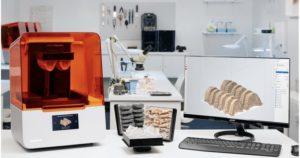 Form 3B 3D printer za biokompatibilne materijale